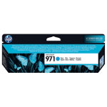 Original HP No971 cyan printer ink cartridge CN622AE