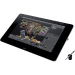 Wacom Graphics Tablet 27QHD Touch 686 cm 27 DisplayPort Digital Audio Video HDMI Digital Audio Video 4 x USB 30 USB Black