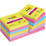 Post it Super Sticky Notes Assorted Ultra 76 x 76 mm