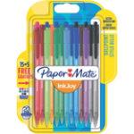 Paper Mate Ballpoint Pen 100RT Assorted Pack 20