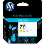 Original HP No711 yellow printer ink cartridge CZ132A