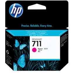 Original HP No.711 magenta printer ink cartridge CZ131A