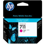 Original HP No711 magenta printer ink cartridge CZ131A