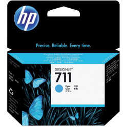 Original HP No.711 cyan printer ink cartridge CZ130A