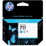 Original HP No711 cyan printer ink cartridge CZ130A