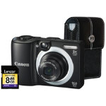 Canon Powershot A1400 Black Camera Kit inc 8GB SD Card and Case