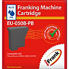 Compatible franking ink for Pitney Bowes DM50 and Pitney Bowes DM55 machines blue Ink