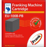 Compatible franking ink for the Pitney Bowes DM100 series machines blue Ink