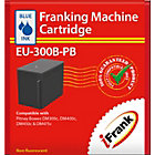 Compatible franking ink for the Pitney Bowes DM300c and DM400c machines blue Ink