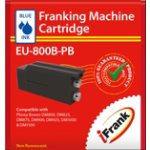 Compatible franking ink for the Pitney Bowes DM800 DM900 DM1000 machines blue Ink