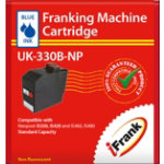 Compatible franking ink for the Neopost IS300 and IS400 series machines blue Ink