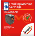 Extra Capacity compatible franking ink for the Neopost IS460 and IS480 machines blue Ink