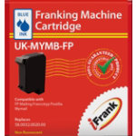Compatible franking ink for the Francotyp Postalia Mymail machine blue Ink