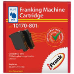 Compatible franking ink for the Francotyp Postalia Ultimail machine blue Ink
