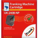 Compatible franking ink for the Neopost IS240 and IS280 machines blue Ink