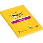 Post it Super Sticky Daffodil Yellow 152mm x 102mm Pack of 6 pads