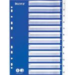 Esselte Index Dividers 1 12 12516001 A4 Blue Polypropylene foil