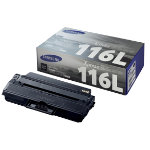 Samsung 116L Original Black Toner Cartridge MLT D116L ELS