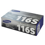 Samsung D116S Original Black Toner Cartridge MLT D116S ELS