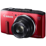 Canon Powershot SX280 HS Digital Camera Red