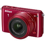 Nikon 1 S1 Mirrorless System Camera Red 11 275mm 10MP