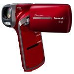 Panasonic HX DC3 Upright Camcorder Red