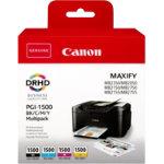 Canon PGI 1500 Original Ink Cartridge CMYK Pack 4