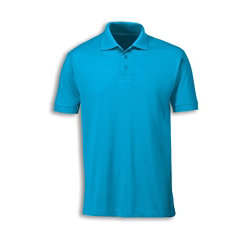 Alexandra polo shirt turquoise size medium