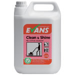 Evans Vanodine Clean and Shine neutral floor maintainer 5L