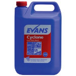 Evans Vanodine Cyclone thick bleach perfumed 5L