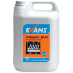 Evans Vanodine Dishwash detergent for dishwashing machines 5L
