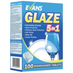 Evans Vanodine machine dishwashing tablets box of 100