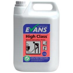 Evans Vanodine High Class neutral hard surface cleaner 5L