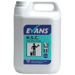 Evans Vanodine Hard surface cleaner lemon 5L