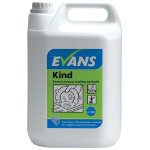 Evans Vanodine Kindtm washing up liquid 5L