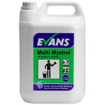Evans Vanodine Mystrol concentrated all purpose cleaner lemon 5L