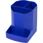 Exacompta Pen Pencil Holder Mini OCTO Polypropylene Cobalt Blue 123 x 9 x 11 cm