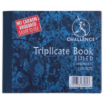 Pukka Pad Ruled Triplicate Book 105 x 130mm