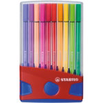 Stabilo 6820 04 Pen 68 fineliner felt colouring pens parade set 20 assorted