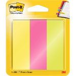 Post it Note Markers 25 x 76mm 3 pads