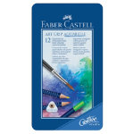 Faber Castell Art Grip Water Colour Pencils Aquarelle assorted colours pack 12