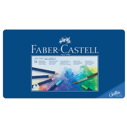 Faber Castell Art Grip Water Colour Pencils Aquarelle assorted colours pack 36