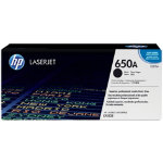 HP 650A Original Toner Cartridge CE270AC Black