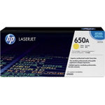 HP 650A Original Toner Cartridge CE272AC Yellow