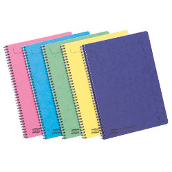 Europa Notemaker A4 notebook in assorted pastel colours pack of 10