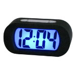 Rubber digital alarm clock