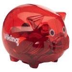 Red Viking Piggy bank