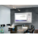 Sigel Magnetic Glass Board Security Glass 110 x 196 cm White