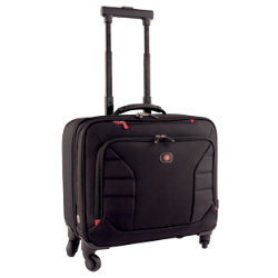 Wenger Swissgear Wenger Interchange Duluxe Roller Case with 17 Inch Laptop Compartment