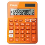 Canon Metallic Orange Calculator LS 123K
